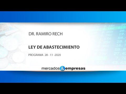 LEY DE ABASTECIMIENTO 28 11 2020